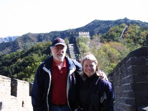 Bob at the Great Wall