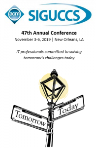 SIGUCCS 47th Annual Conference graphic.